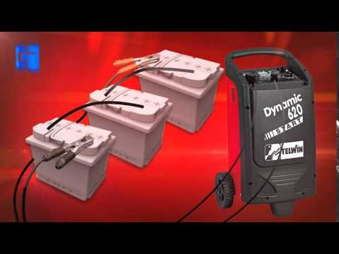 Telwin Battery Charger And Starter Dynamic 220 320 420 520