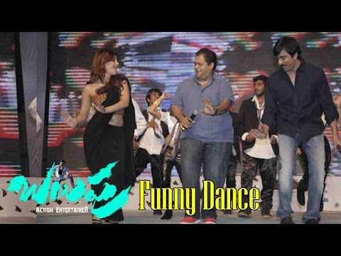 Ravi Teja, Brahmanandam, Hansika & Funny Dance Performance -Power Movie Audio Launch