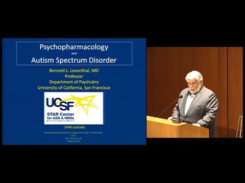 Psychopharmacology and Autism Spectrum Disorders