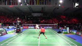 Lin Dan vs Viktor Axelsen - MS [Denmark Open 2015]