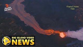 Hawaii Volcano Eruption Update - Monday Morning (June 11, 2018)