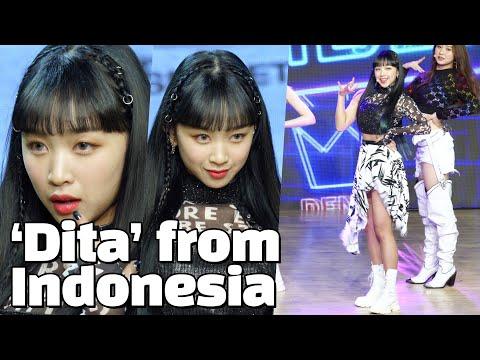 [ENG] FIRST INDONESIAN K-POP Girl Group Member, 'DITA' in SECRET NUMBER