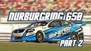 iRacing: Nurburgring 650 - Part 2 (V8 Supercars @ Nurburgring)