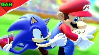 Super Mario CGI Animated Full Video Game Movie vs Sonic (2018)