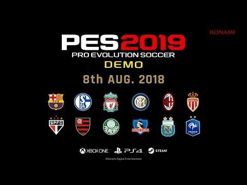 PES 2019 Demo Trailer