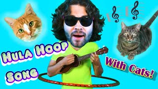 Hula Hoop Appreciation Song Featuring Cats
