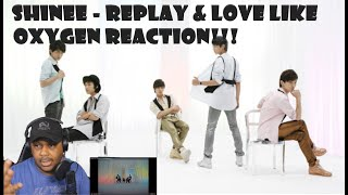 First Time SHINee - Replay & Love Like Oxygen (Reaction)…