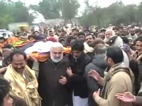 Zakir Ghazanfar Abbas Gondal (Marhoom) ki Namaz-e-Janaza and Tadfeen Deowal Bhalwal