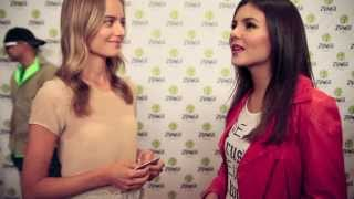 Interview with Victoria Justice @ The Zumba Convention 2013. Thumbnail