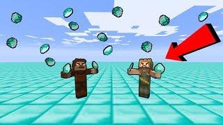 ARDA VE RÜZGAR ELMAS DÜNYASI BULDU! 😱 - Minecraft