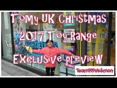 Tomy UK Christmas Range 2017 Toys Extravaganza - Exclusive Press Event access