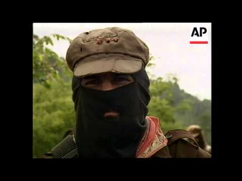 MEXICO: REBEL ZAPATISTA NATIONAL LIBERATION ARMY THREAT