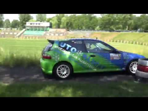 Szombierki Rally Cup 2017 – Runda II – Sławomir Potapiuk / Daniel Haraf – Honda Civic