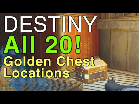 All 20 Golden Chest Locations In Destiny | WikiGameGuides