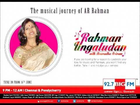 92.7 Big FM Chennai Rahman Ungaludan Show 26th June
