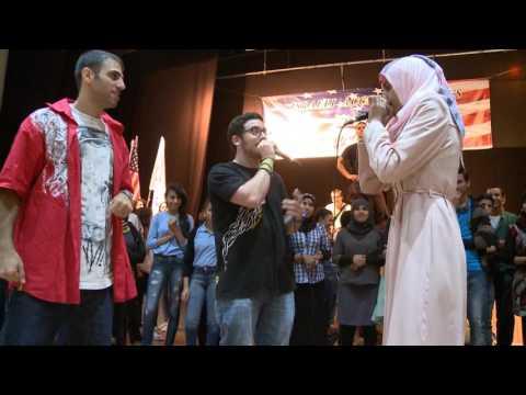 Flash Mob Dance with Arab and Jewish Israeli Students