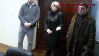 Скандал в кабинете главы города с чиновником из района