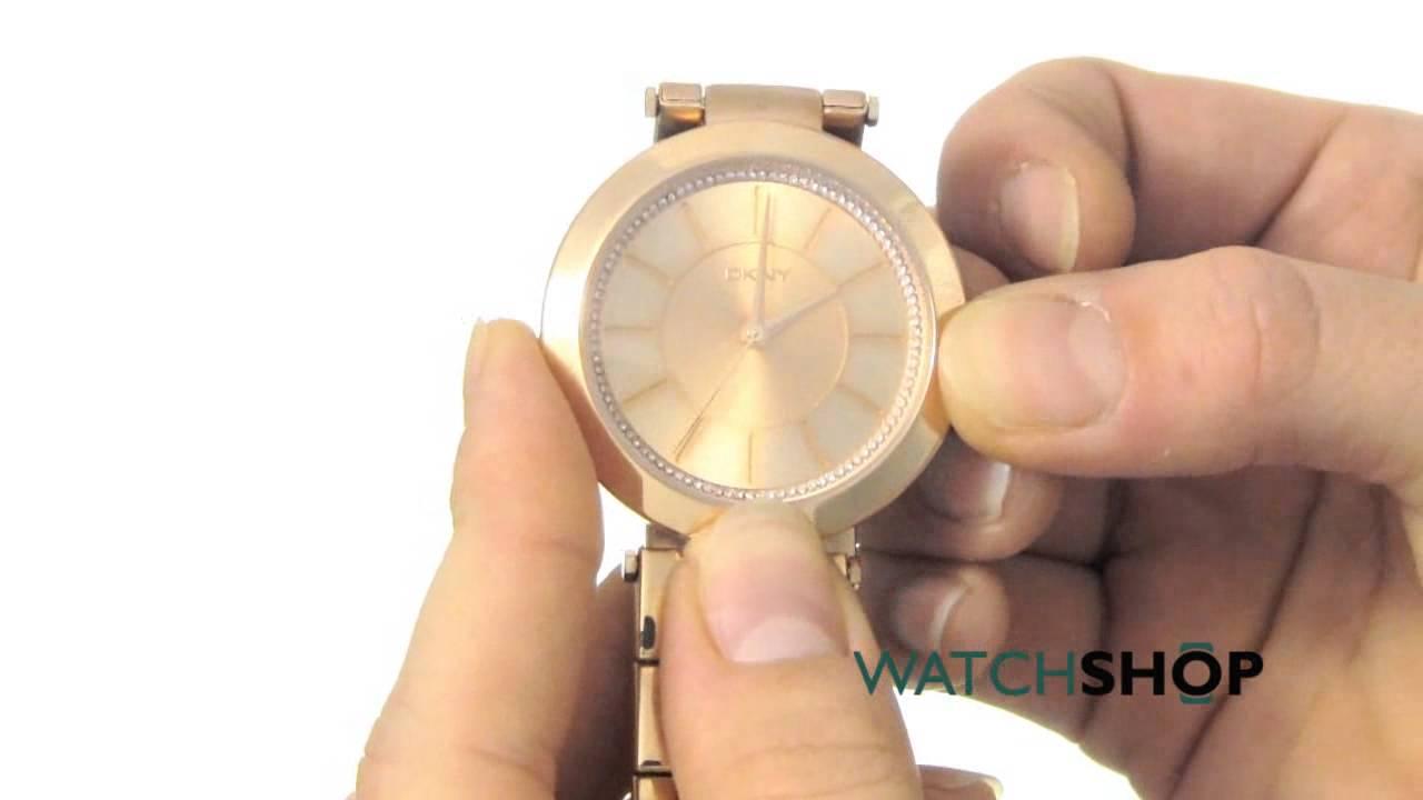 a58db013b DKNY Ladies' Stanhope 2.0 Watch (NY2287) - YouTube