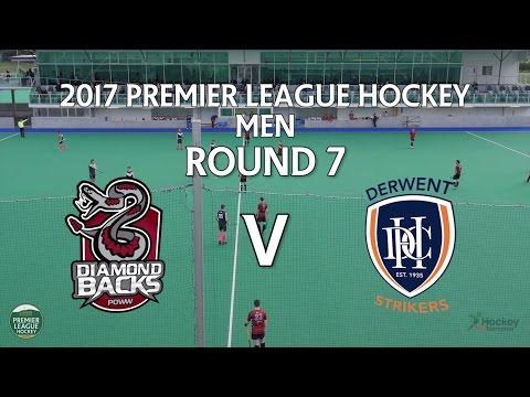 Diamondbacks v Derwent | Men Round 7 | Premier League Hockey 2017