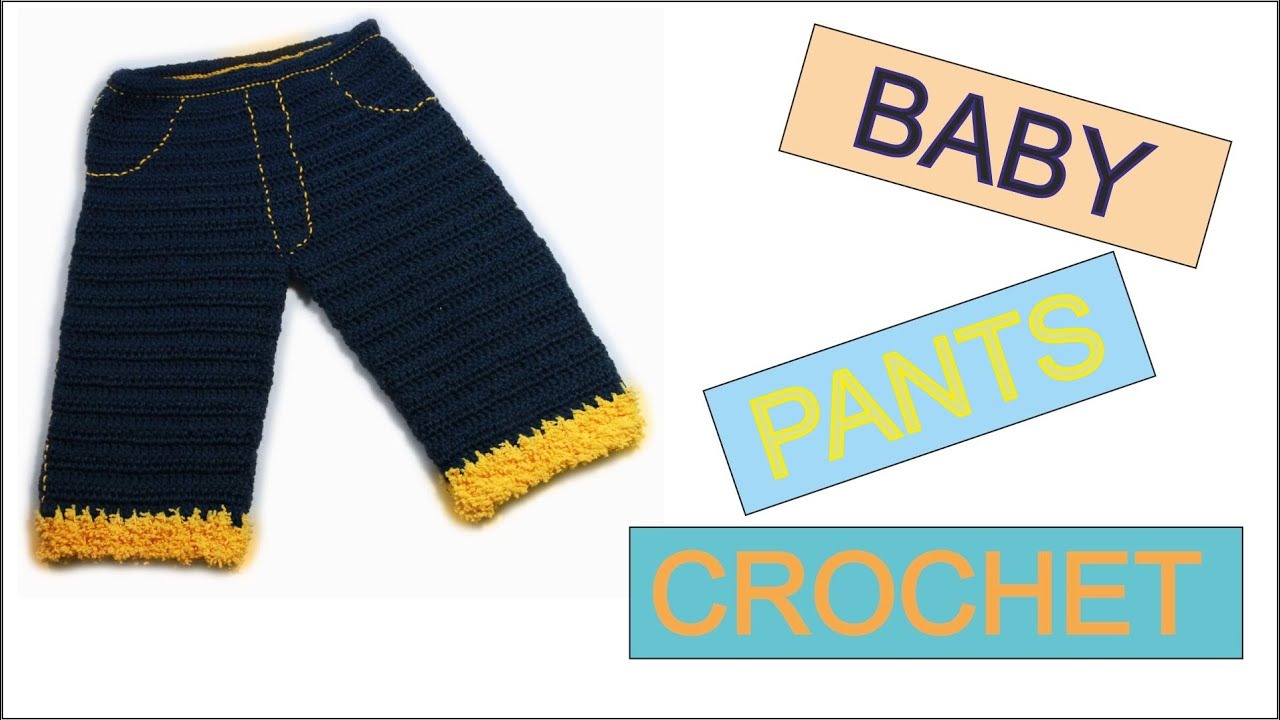 How to crochet baby pants free tutorial pattern by wwwika youtube bankloansurffo Image collections