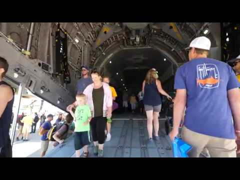 Inside a Royal Airforce Airbus A400M Atlas