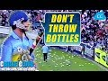 Sourav Ganguly's UPSET FANS THROWING BOTTLES -  When he was given out with Old Cricket Rules !!