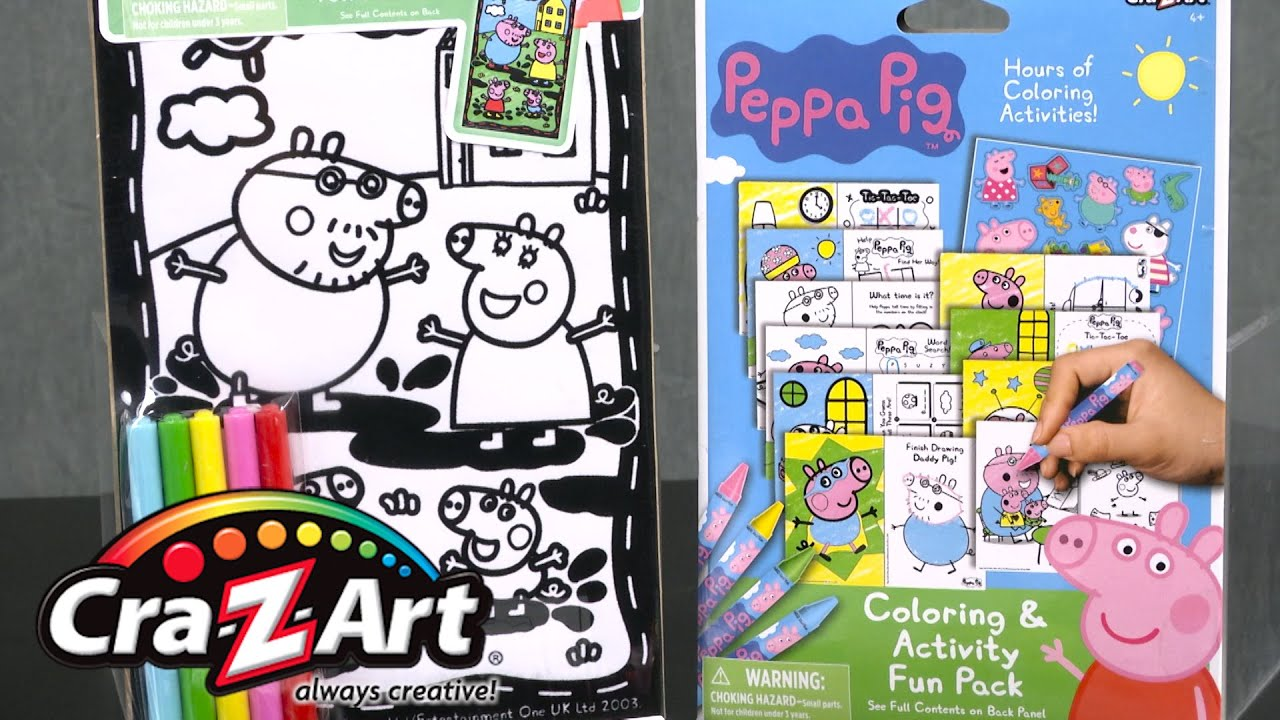 Disney velvet coloring posters - Peppa Pig Coloring Activity Paint By Numbers Velvet Brite Velvet Poster From Cra Z Art