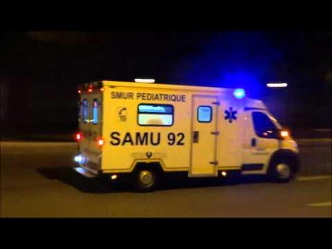 Urgence SAMU 78 et 92 VERSAILLES  Emergency resuscitation Ambulance