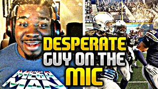 Desperate Madden Player Loses His Mind ON THE MIC ! - Madden NFL 16 Ultimate Team - MUST WATCH Funny