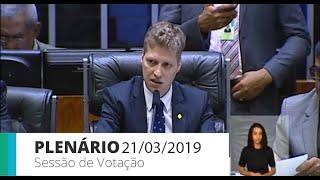 Plenário - Sessão para a votação de propostas legislativas - 21/03/2019 09:00
