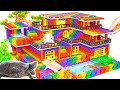 - DIY - Build Mega Mansion Has Swimming Pool For Turtle And Hamster With Magnetic Balls Satisfying
