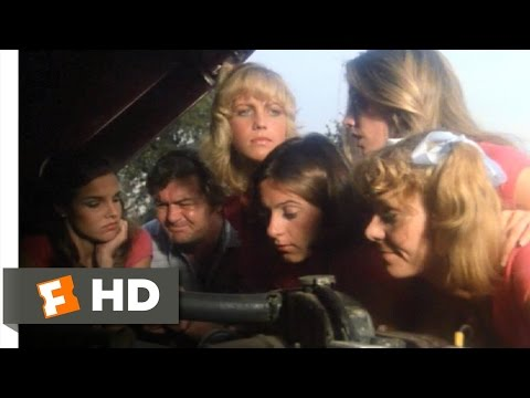 Gas Pump Girls (3/11) Movie CLIP - First Customer (1979) HD
