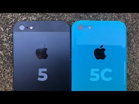 iPhone 5 & 5C: Two Very Different Phones