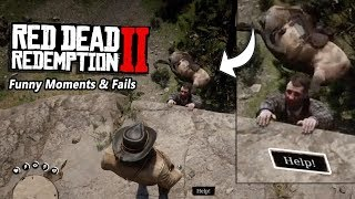 Funny Moments & Fails Red Dead Redemption 2
