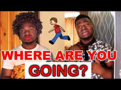 In An African Home: When You Try To Sneak Out