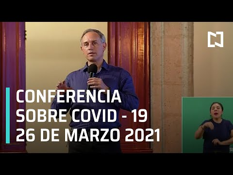 Informe diario Covid-19 en Vivo - 26 de Marzo 2021