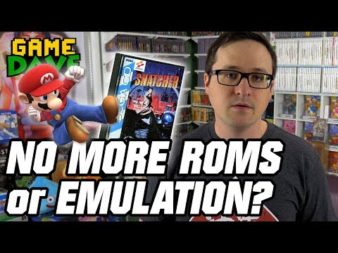 DEATH of Video Game Preservation? EmuParadise ROMS GONE! | Game Dave