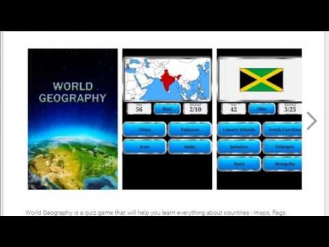 World Geography - Quiz Game Overview