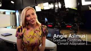 Angie talks about studying Climate Adaptation at USQ
