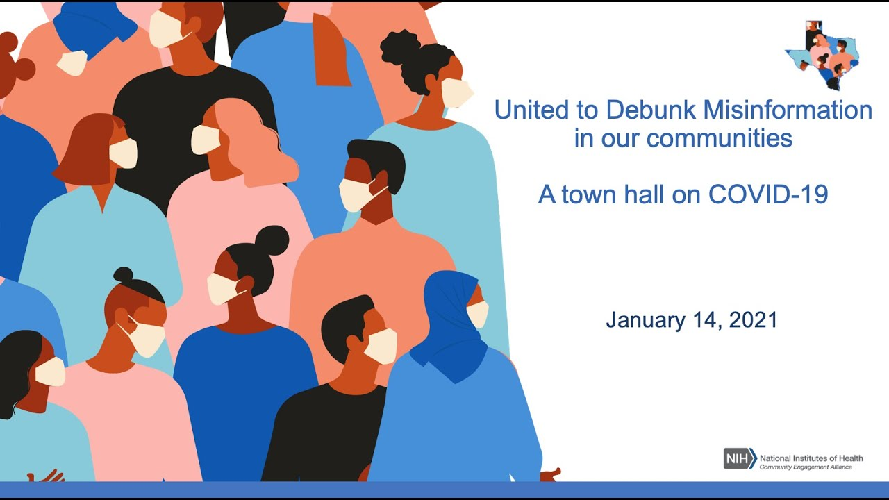 United to Debunk Misinformation in Our Communities: A Town Hall on COVID 19