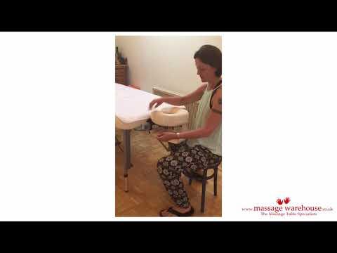 Shiatsu Massage Therapist Zoe Shares Why She Swapped Mats For The Porta-Lite Delta II Massage Table