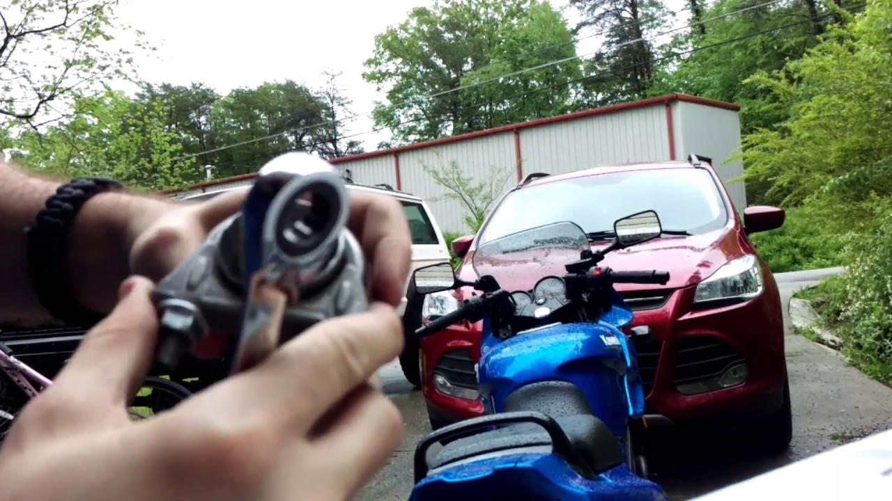 2009 kawasaki ninja 500r muffler delete part 2 (plus audio) - youtube