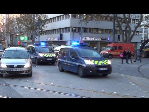 Gendarmerie Moto Escorte // Police Motorcyle Escort