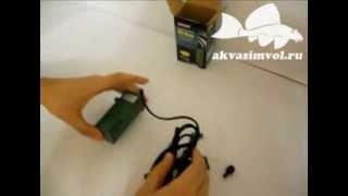 Инструкция по сборке фильтра SOBO 310F BIO