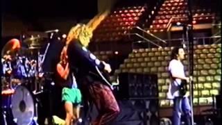 Robert Plant / Alannah Myles Soundcheck 1990