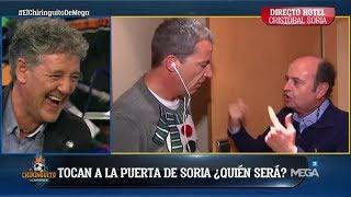 ¡TIENES QUE VERLO! ¡Juanma Rodríguez APARECIÓ en el HOTEL de Cristóbal Soria!
