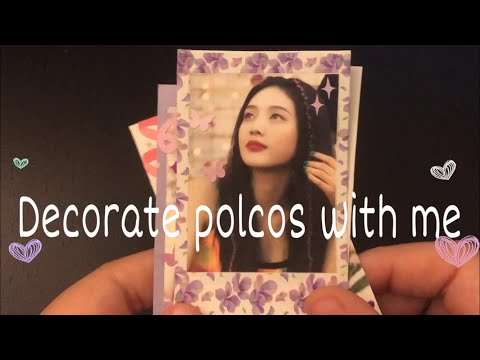 Decorate polcos with