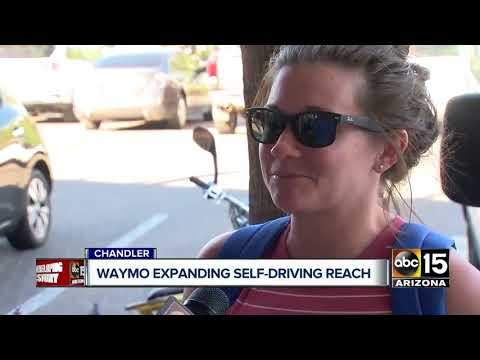 Waymo expanding self-driving reach in the Valley