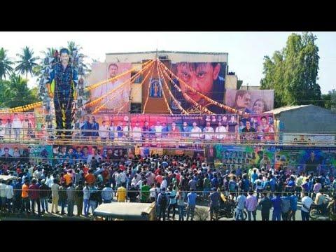 Yajamana Film Fans Craze In Malavalli | Yajamana 2019 | Darshan