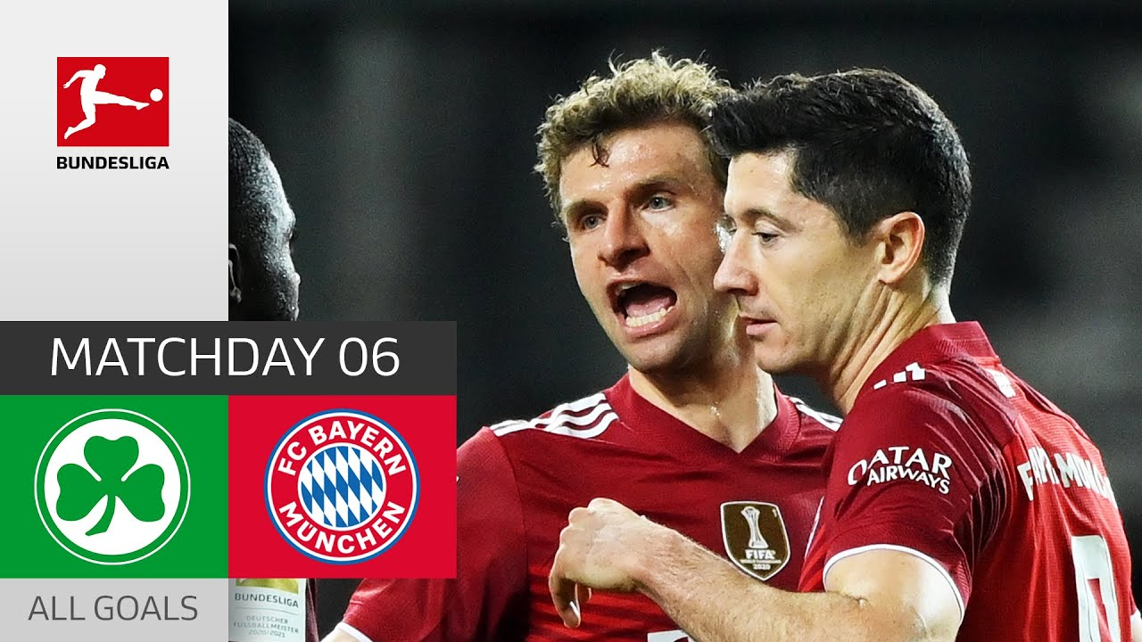 Download Bayern Unstoppable! Müller Paves The Way | Greuther Fürth - FC Bayern München 1-3 | All Goals | MD 6